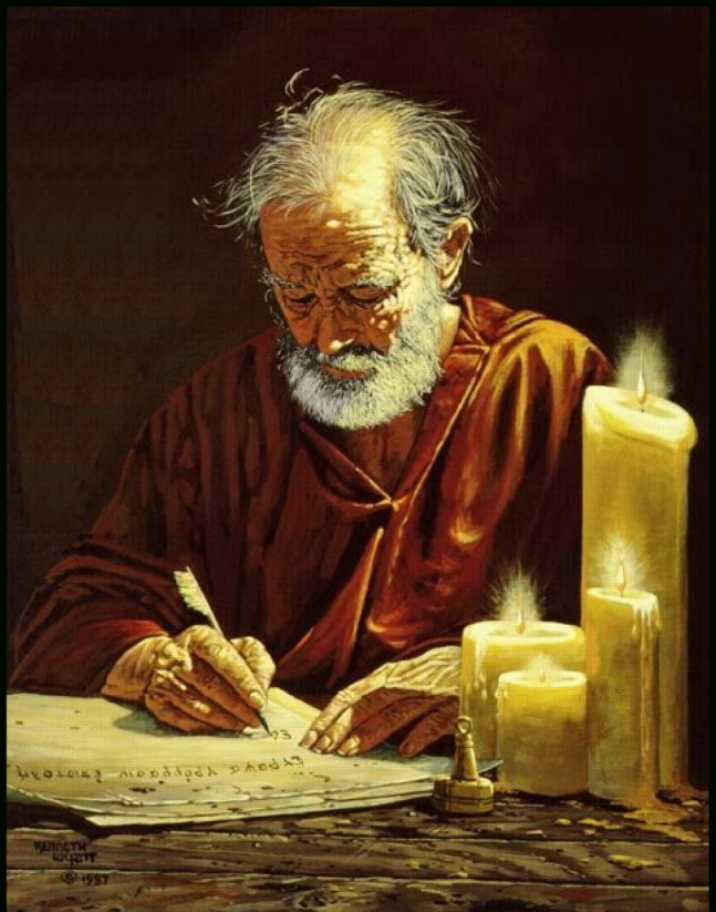 APOSTLE PAUL WRITING LETTERS-2