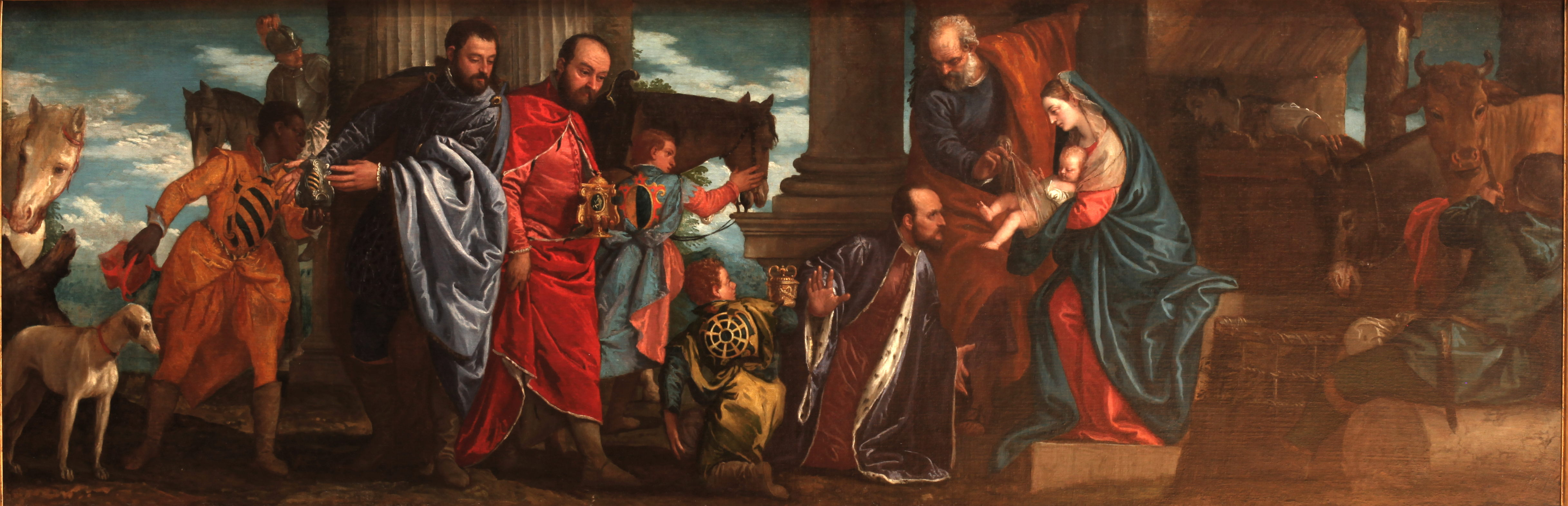 Adoration of the Wise Men-Veronese-MBA Lyon A79-IMG 0315