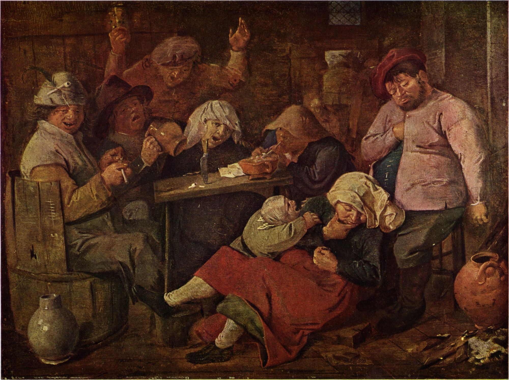 Adriaen Brouwer Inn with Drunken Peasants