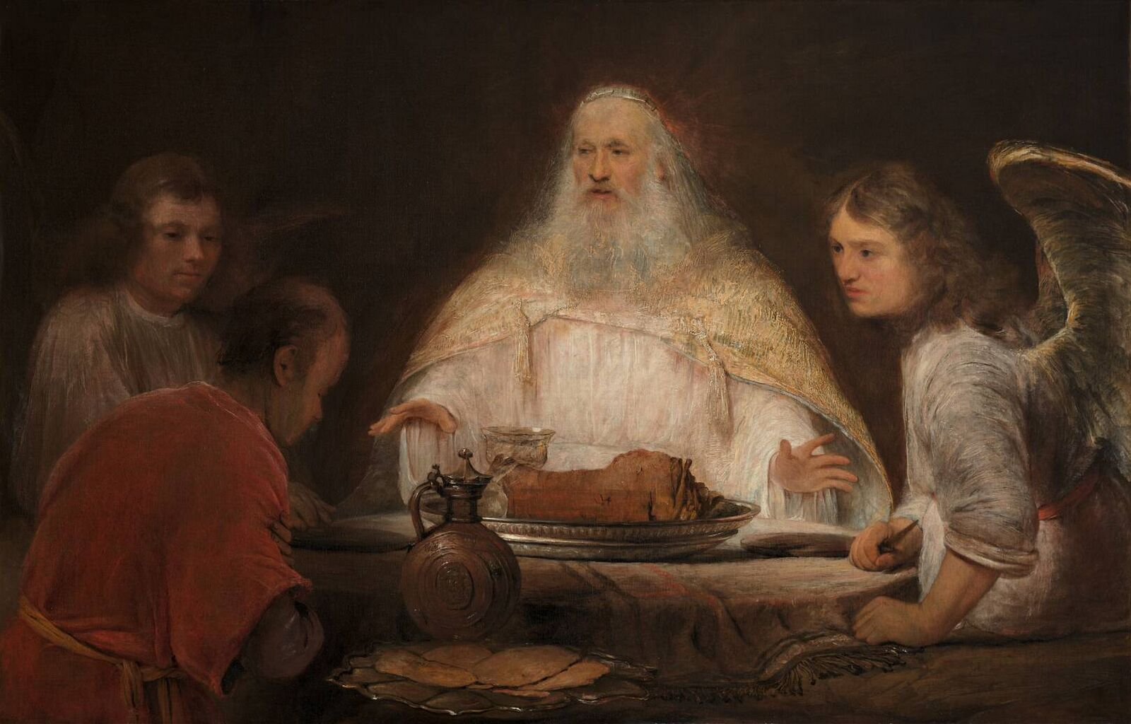 Aert de Gelder Abraham and the Angels