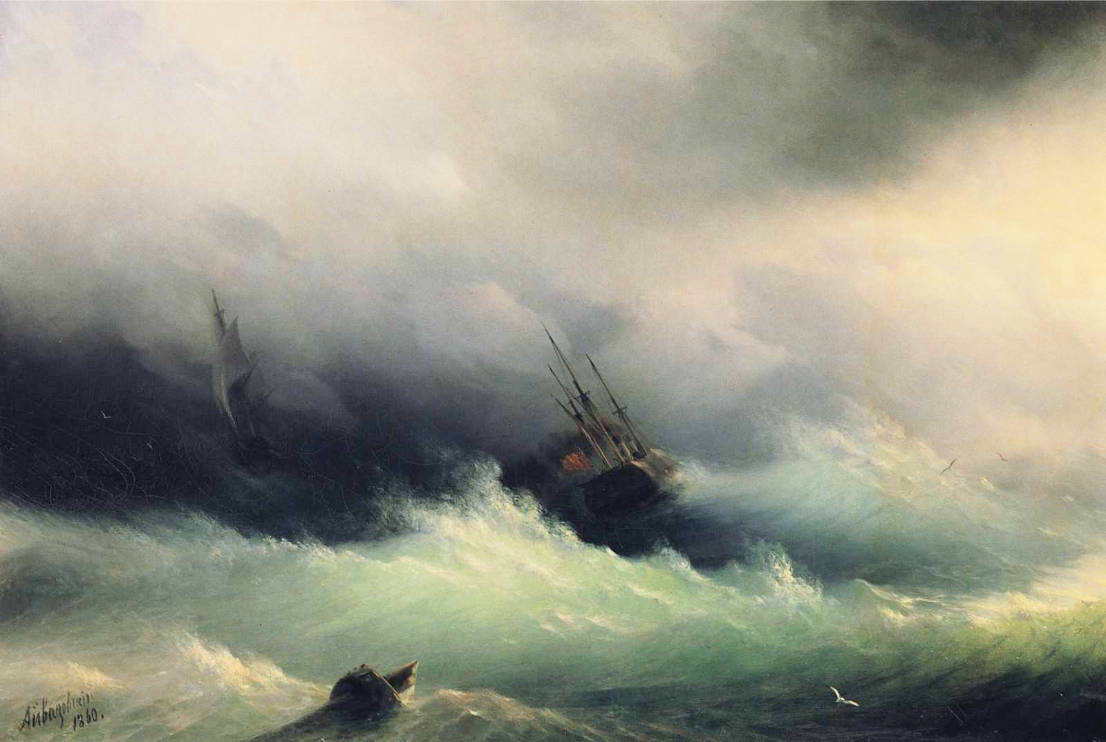 Aivazovsky - Ships in a Storm