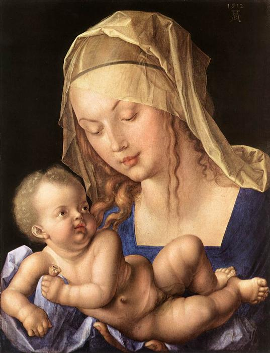 Albrecht-Durer-Madonna-of-the-Pear