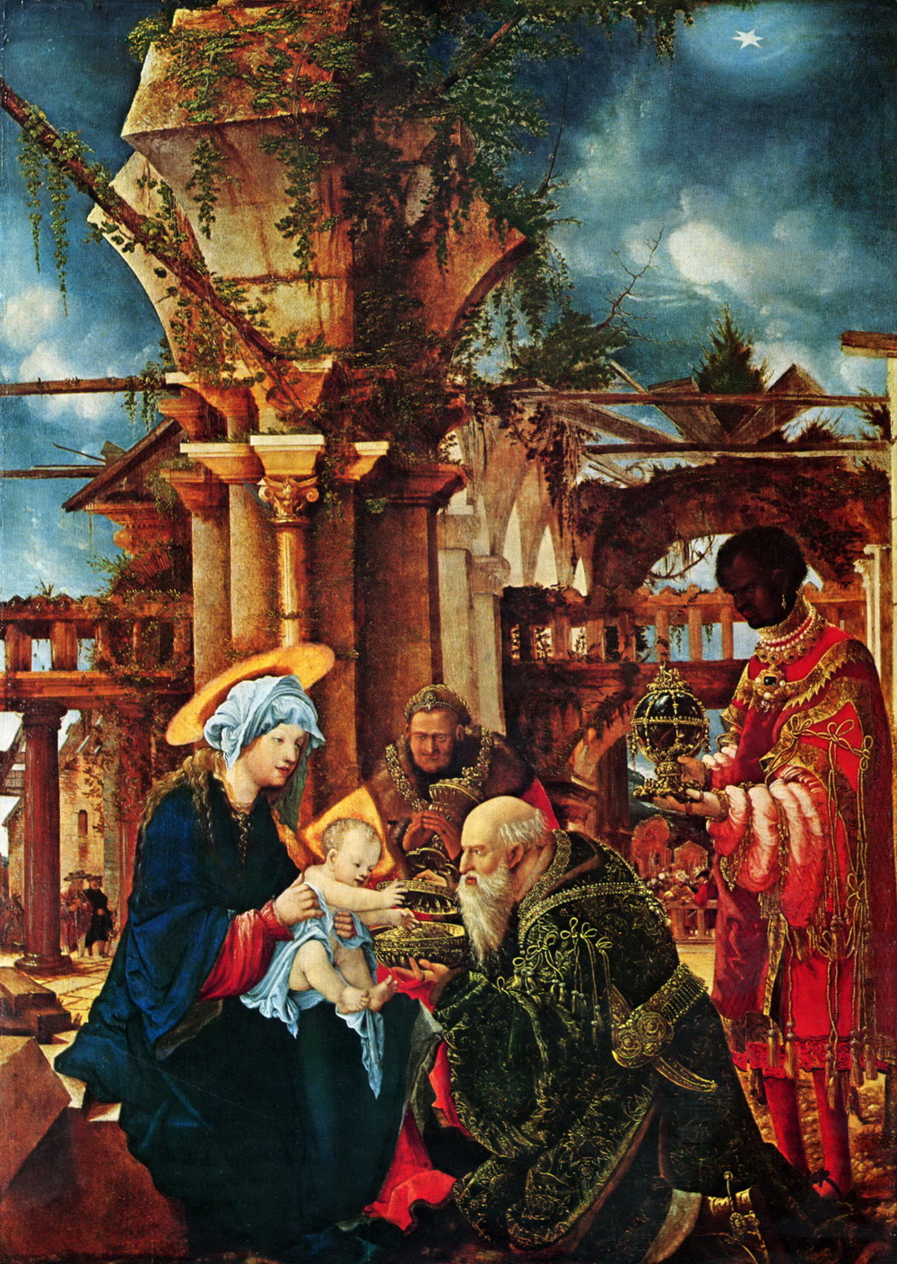 Albrecht Altdorfer - The Adoration of the Magi - Städel-1000