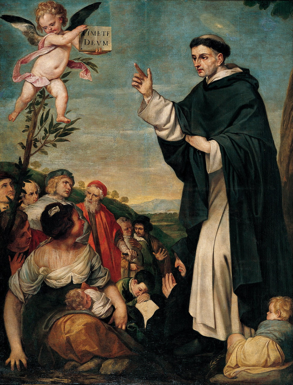 Alonso Cano - St. Vincent Ferrer Preaching-1000