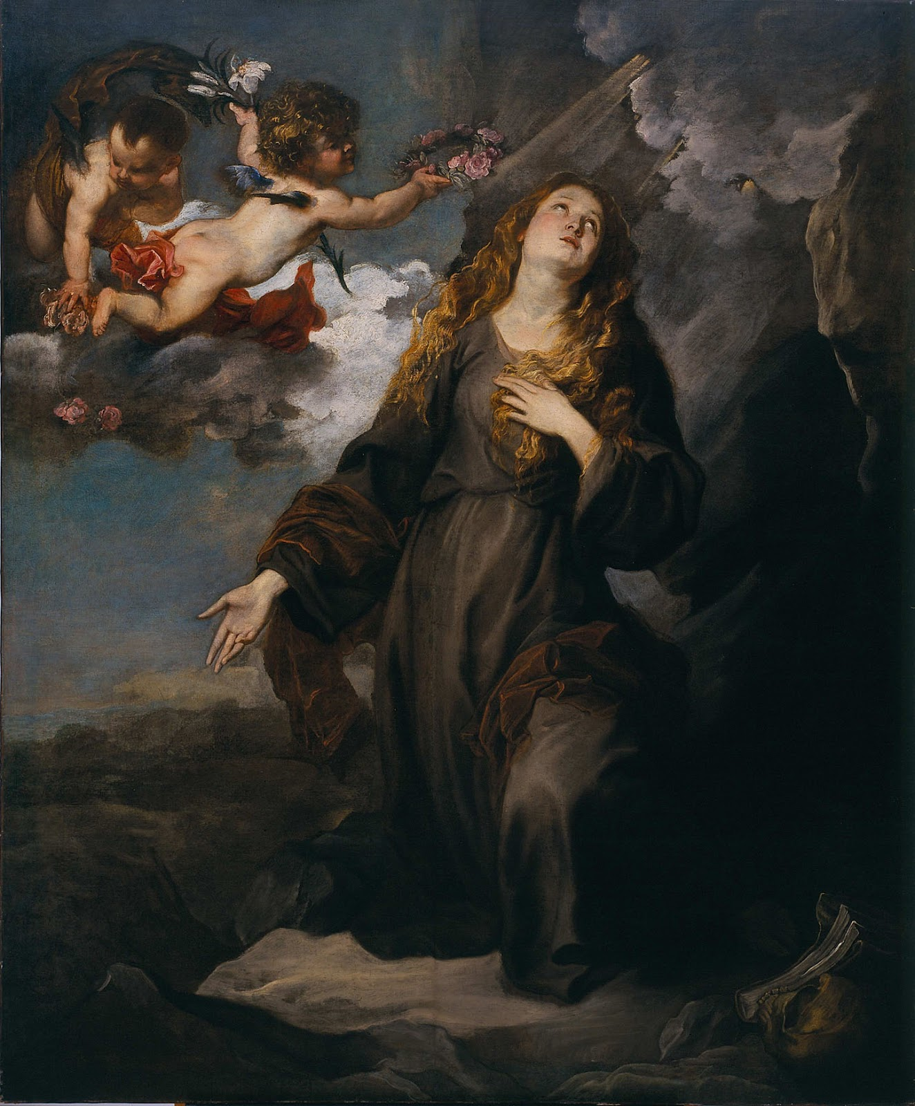 Anthony van Dyck St Rosalie in Glory 1624