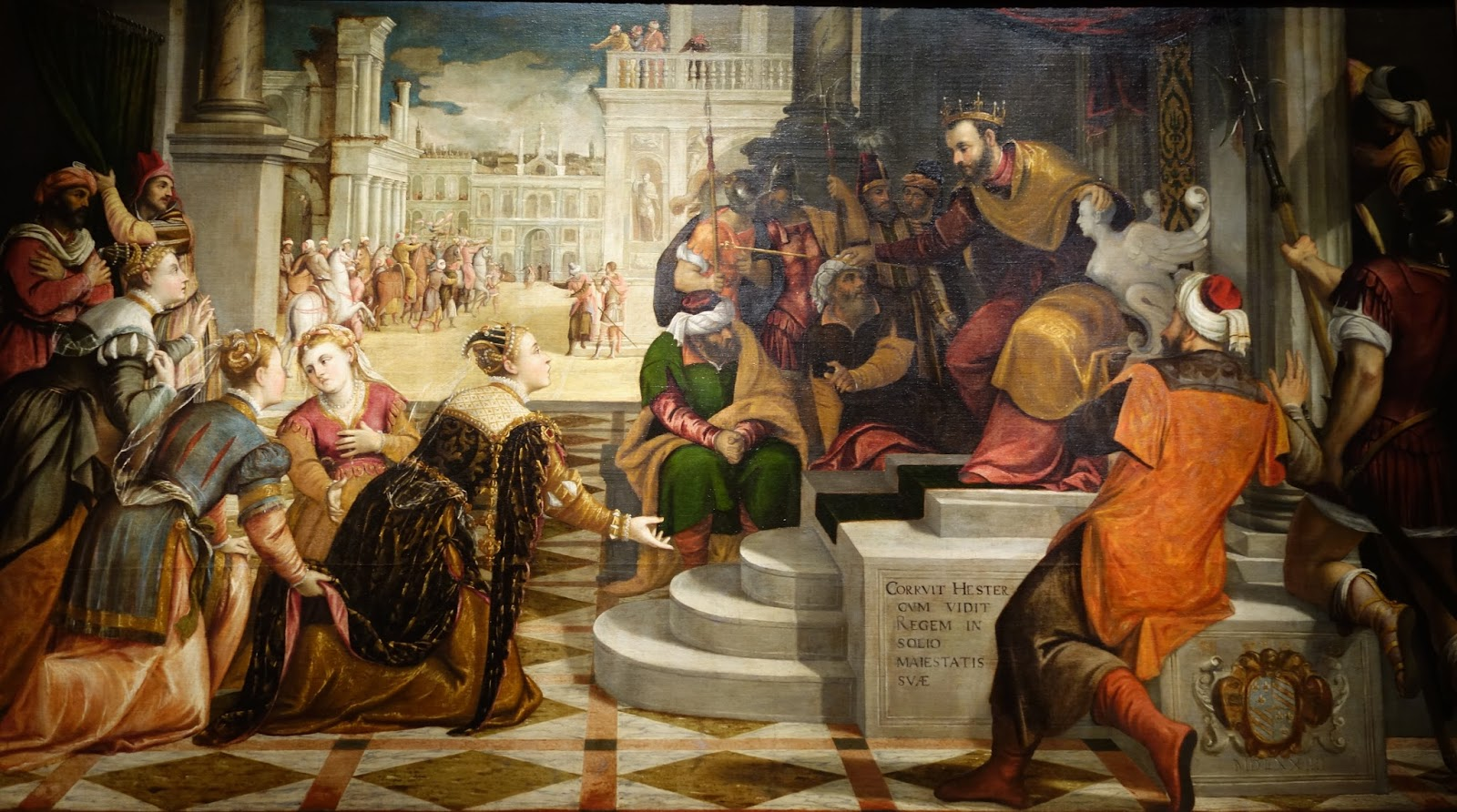 Antonio Palma 1510-1575 Esther before Ahasuerus