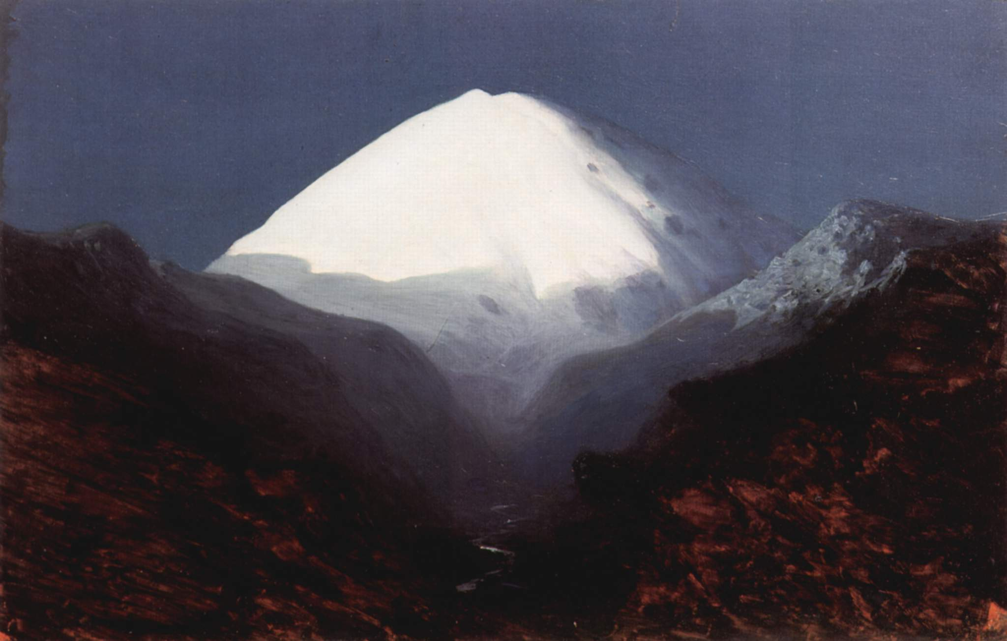 Archip Iwanowitsch Kuindshi Elbrus at night