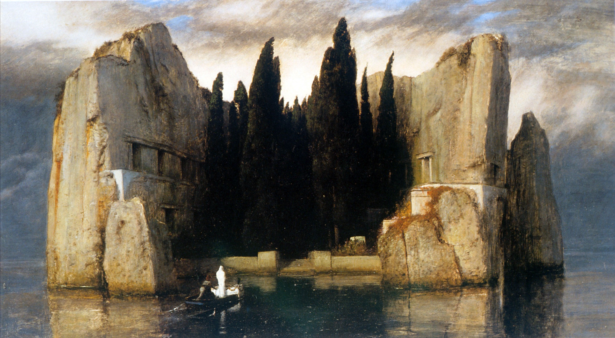 Arnold Boecklin - Island of the Dead Third Version