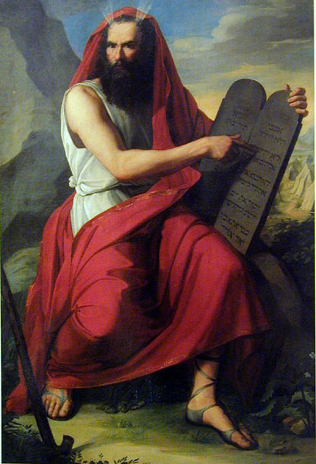 Attributed to Moritz Daniel Oppenheim-moses