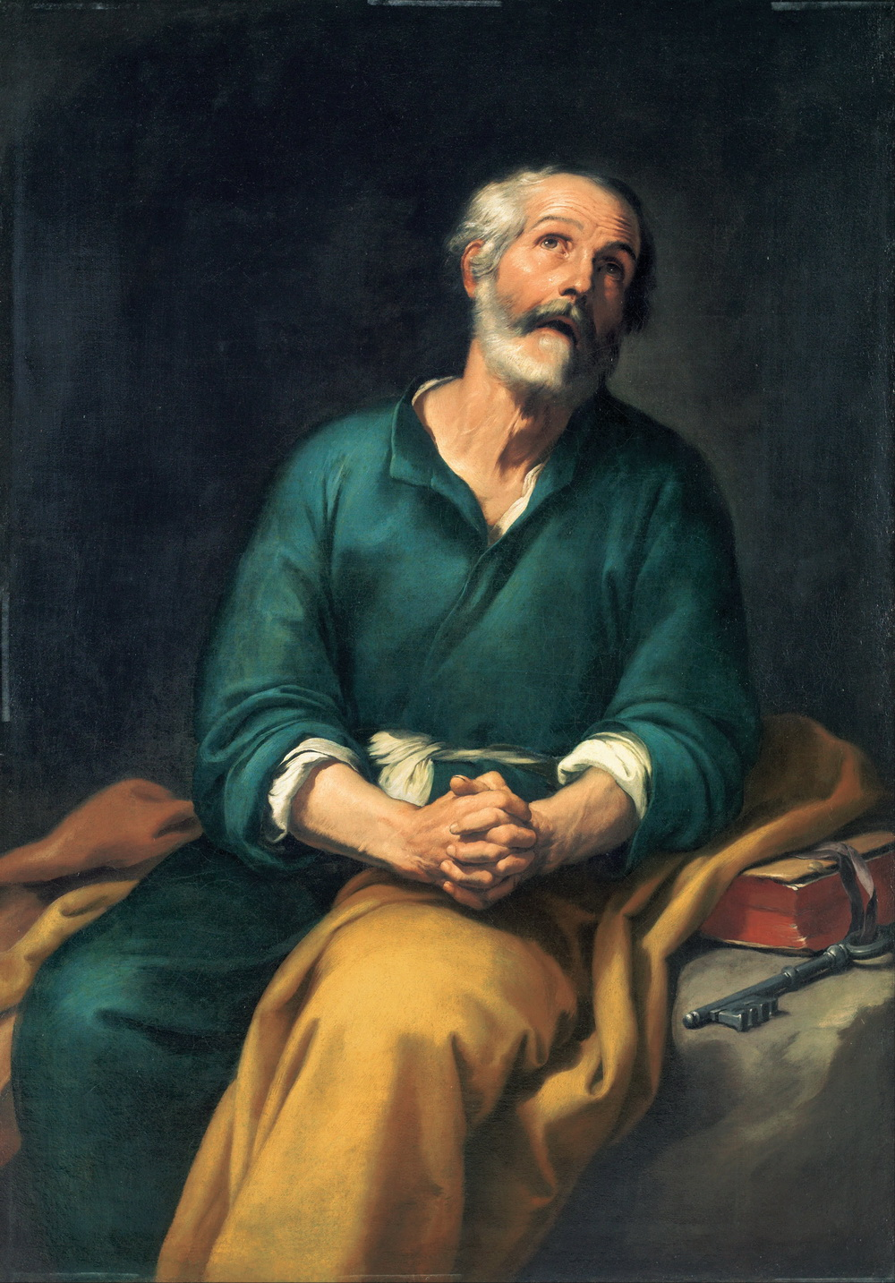Bartolomé Esteban Murillo - Saint Peter in Tears-1000