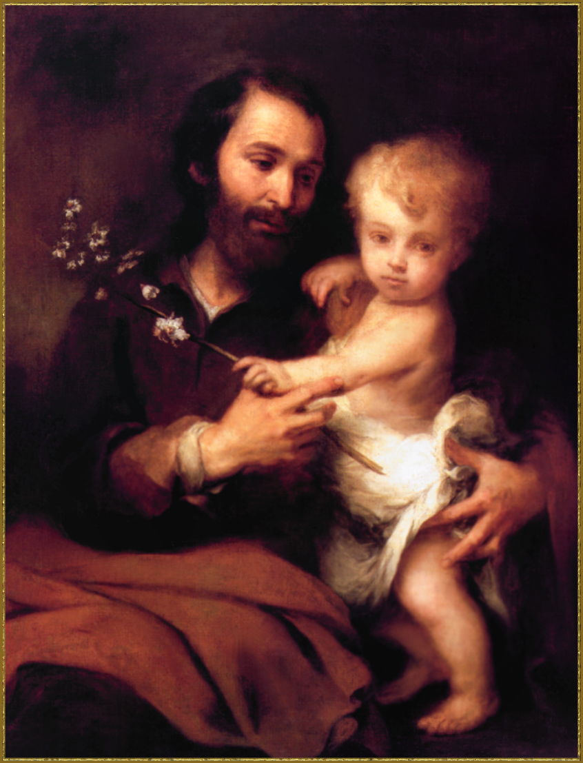 Bartolomé Esteban Murillo 1617-1682 St. Joseph with the Infant Jesus