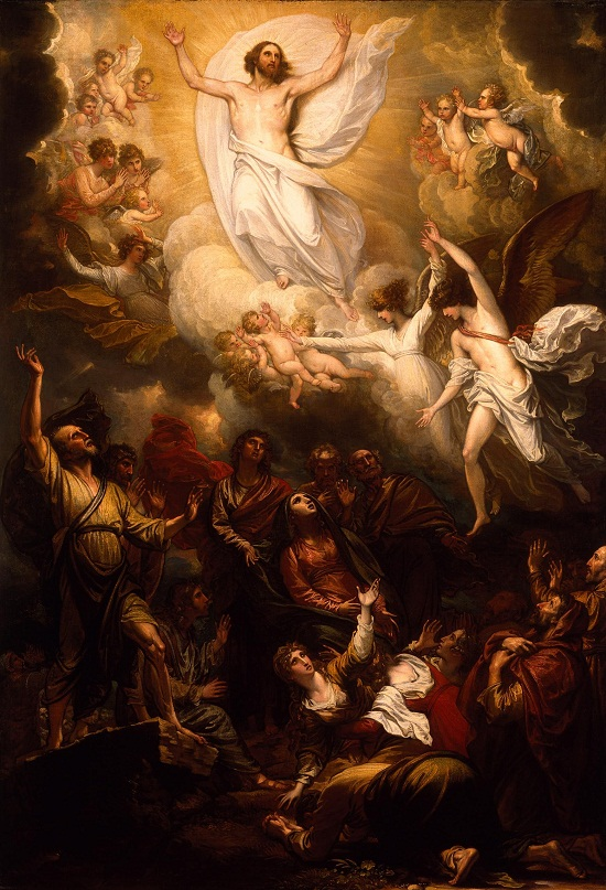 Benjamin West 17381820-The Ascension