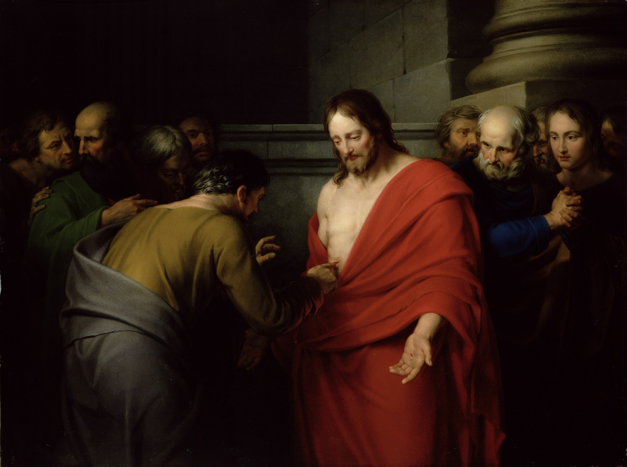 Benjamin West The Incredulity of Saint Thomas c. 1790