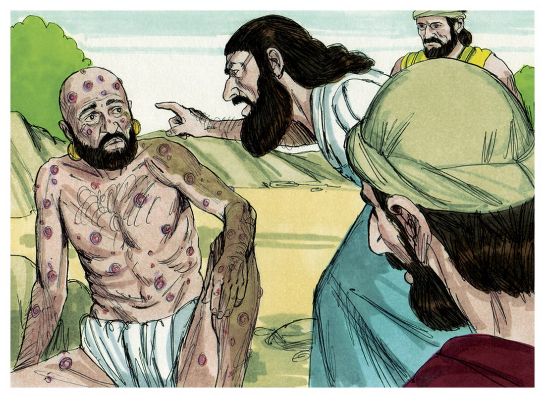 Book of Job Chapter 15-1 Bible Illustrations by Sweet Media-2
