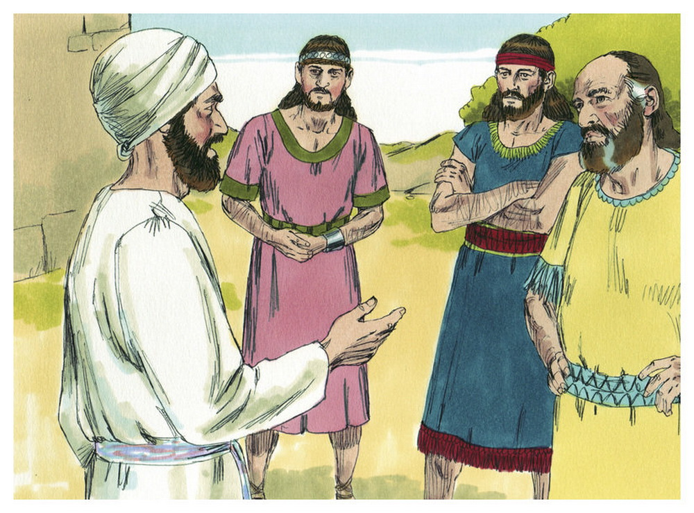 Book of Joshua Chapter 22-2 Bible Illustrations by Sweet Media-2