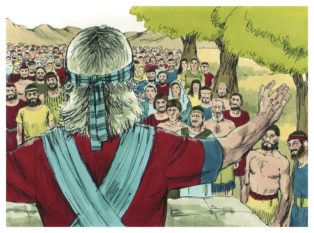 Book of Joshua Chapter 22-4 Bible Illustrations by Sweet Media-2