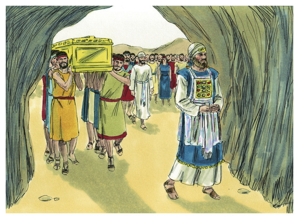 Book of Joshua Chapter 24-7 Bible Illustrations by Sweet Media-2
