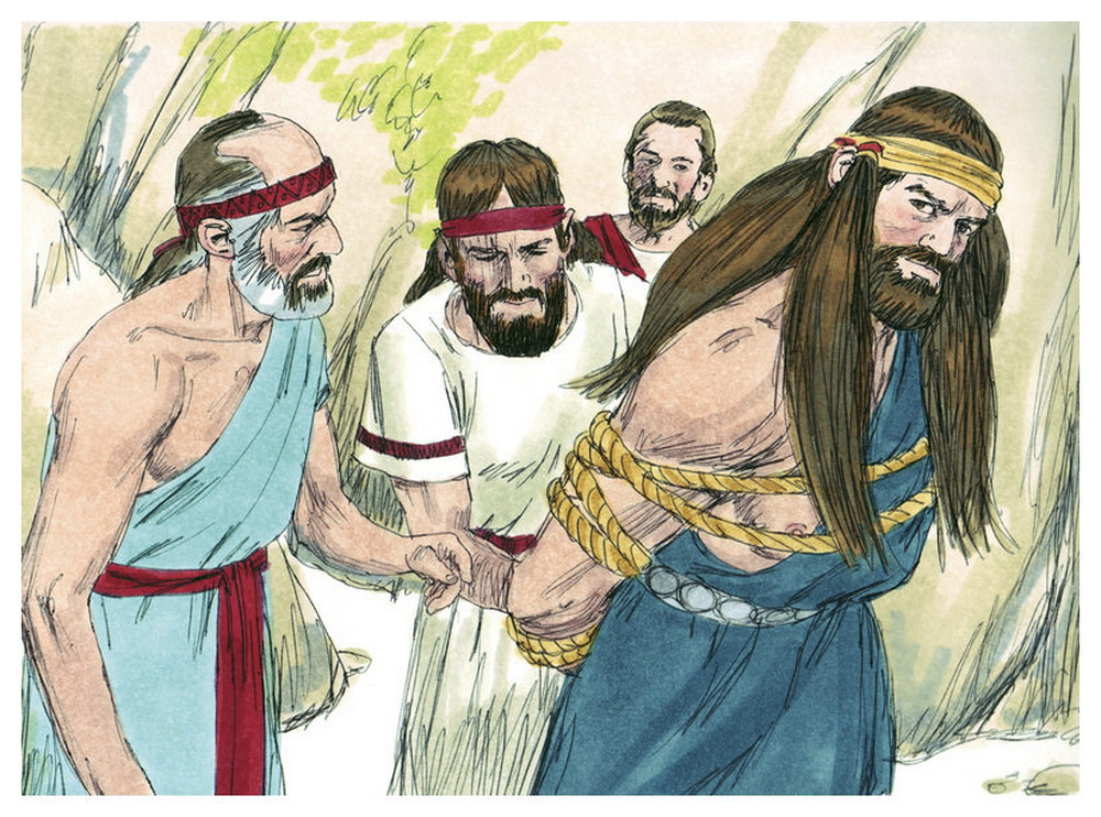 Book of Judges Chapter 15-8 Bible Illustrations by Sweet Media-2