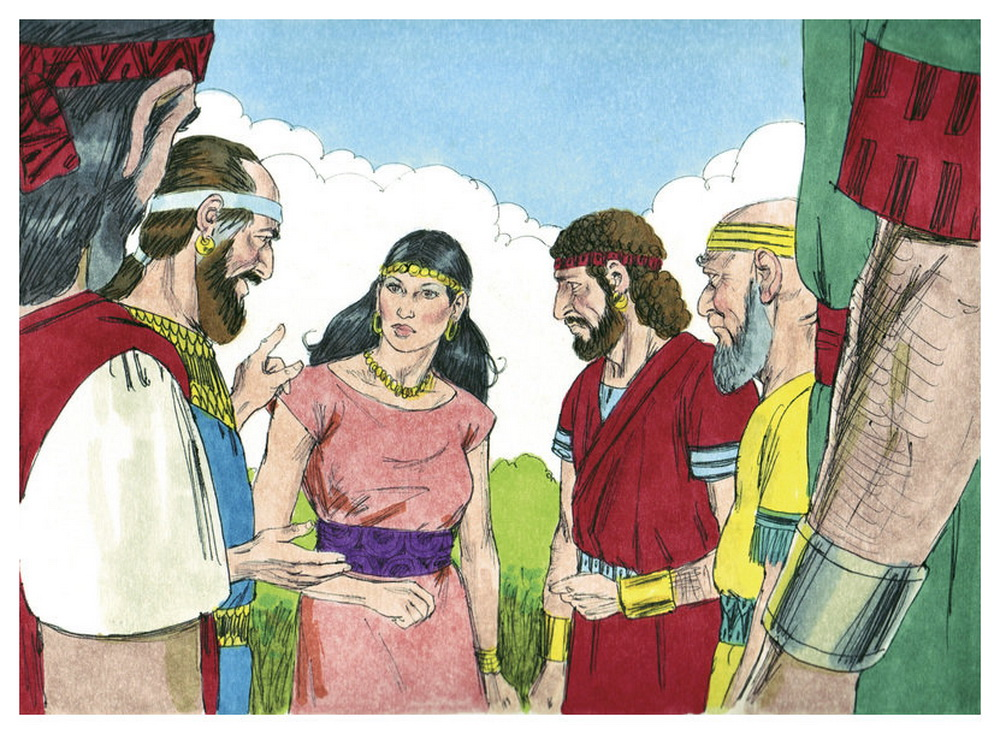 Book of Judges Chapter 16-2 Bible Illustrations by Sweet Media-2