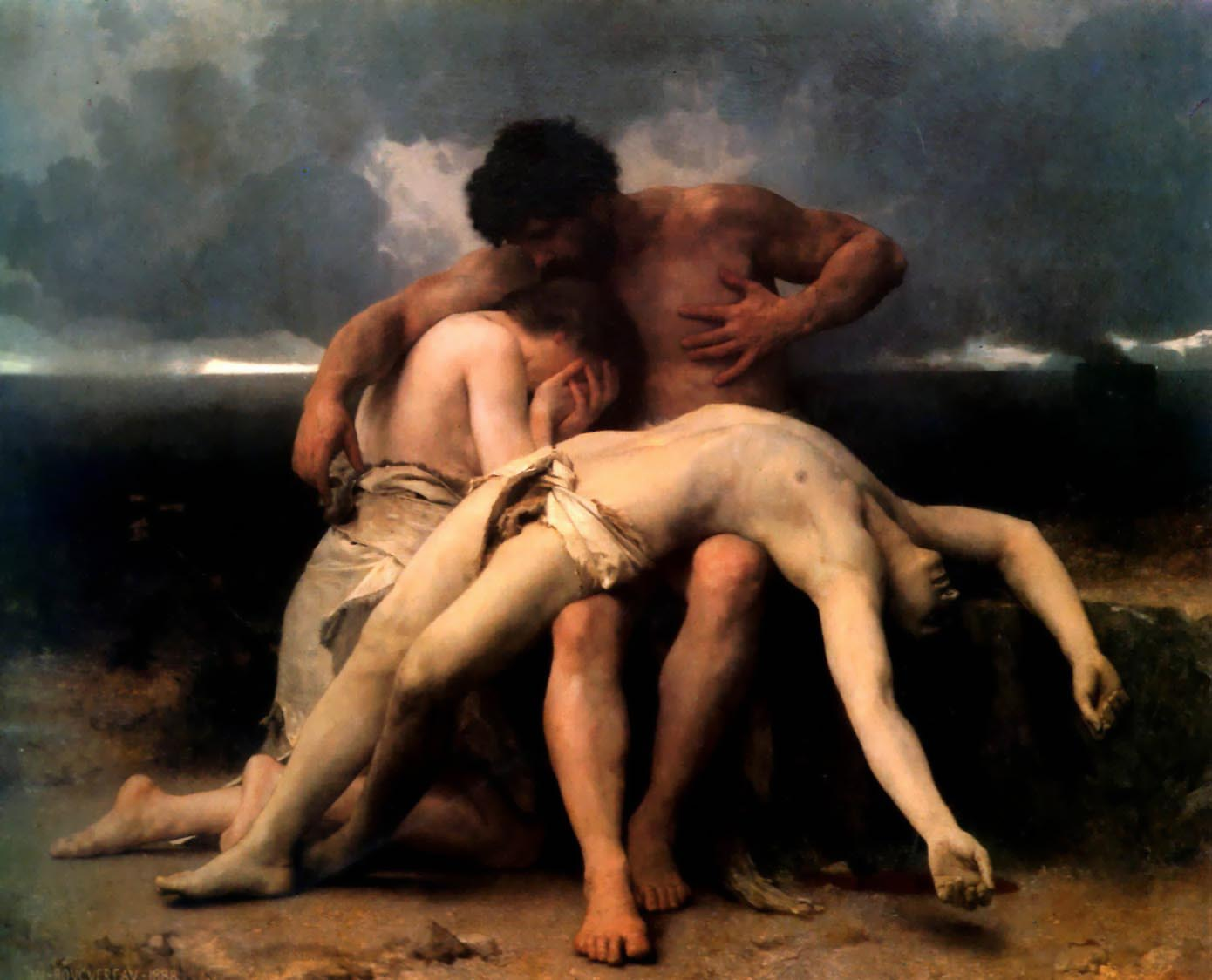 Bouguereau-The First Mourning-1888