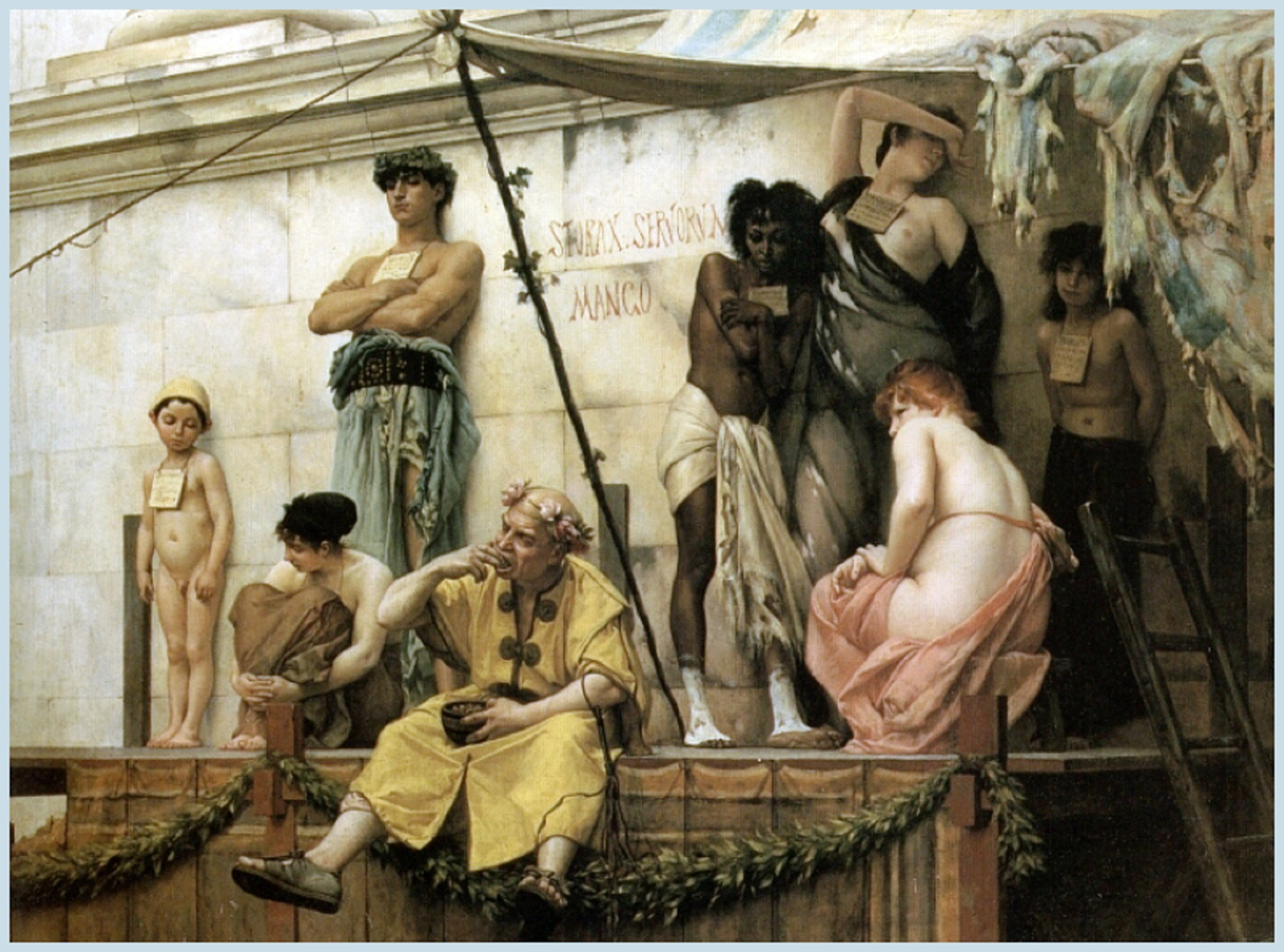 Boulanger-gustave-clarence-rudolphe-french-1824-1888-the-slave-market