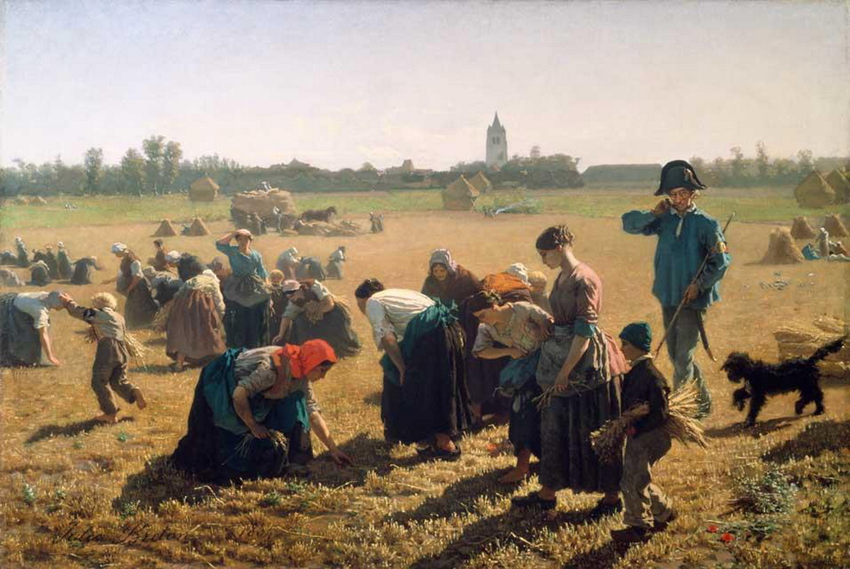Breton - The Gleaners - 1850-1200