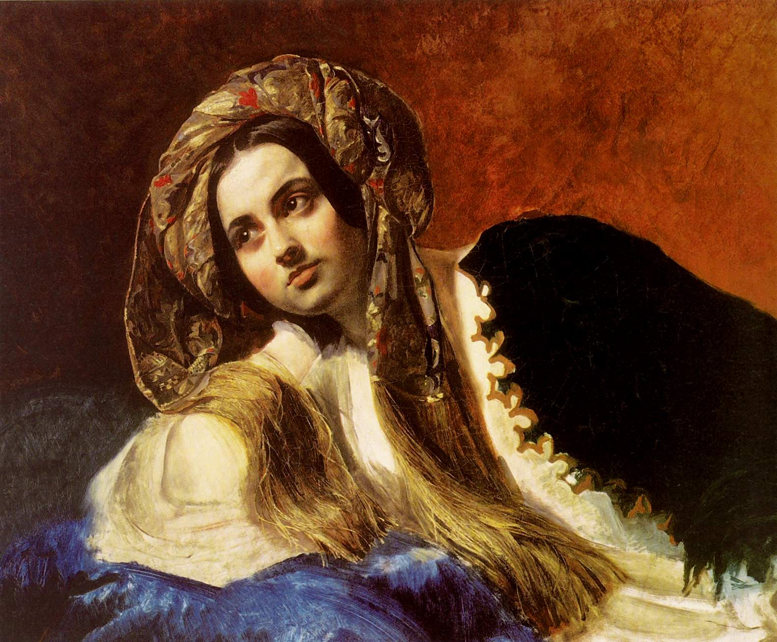 Briullov-Karl-A-Turkish-Girl