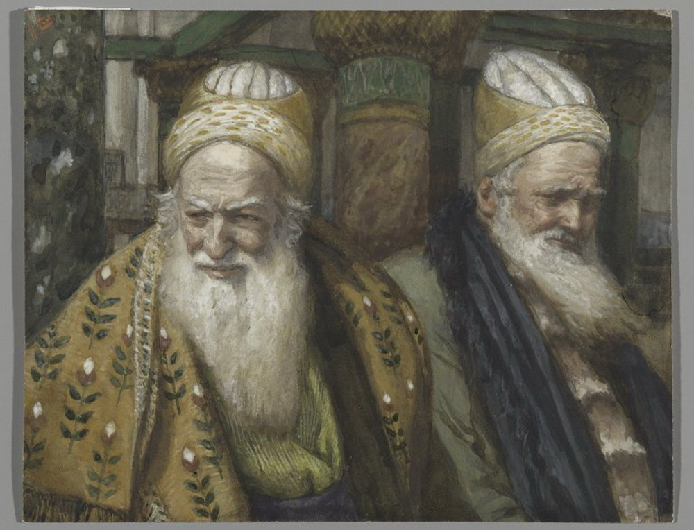 Brooklyn Museum - Annas and Caiaphas Anne et Caïphe - James Tissot-1000