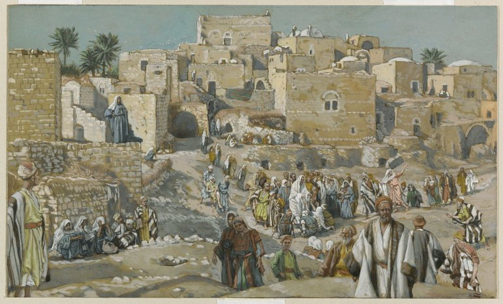Brooklyn Museum - He Went Through the Villages on the Way to Jerusalem-1000