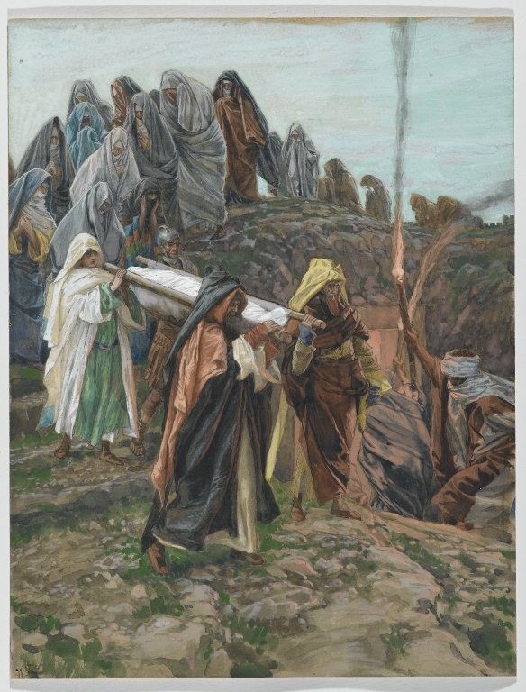 Brooklyn Museum - Jesus Carried to the Tomb James Tissot