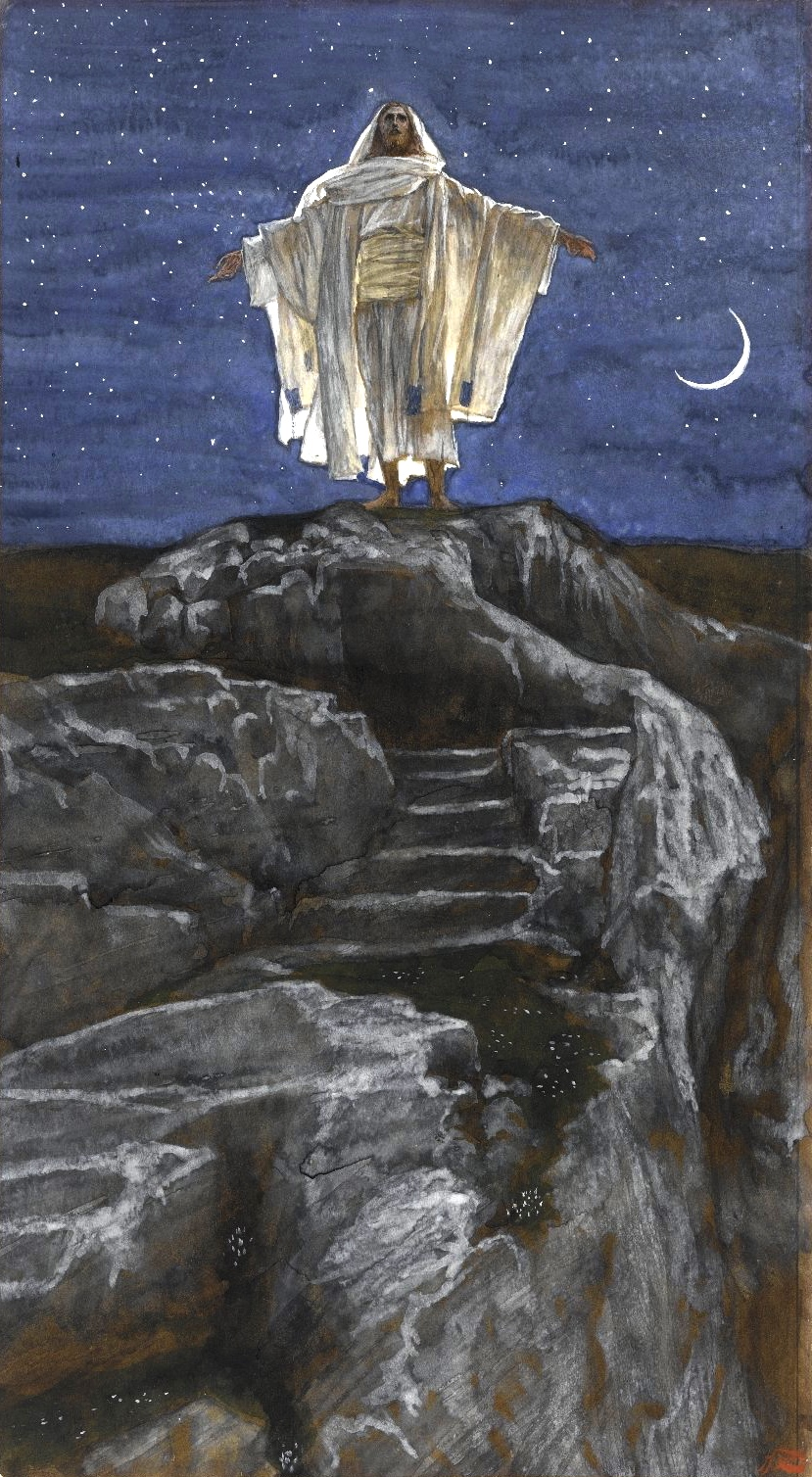 Brooklyn Museum - Jesus Goes Up Alone onto a Mountain to Pray
