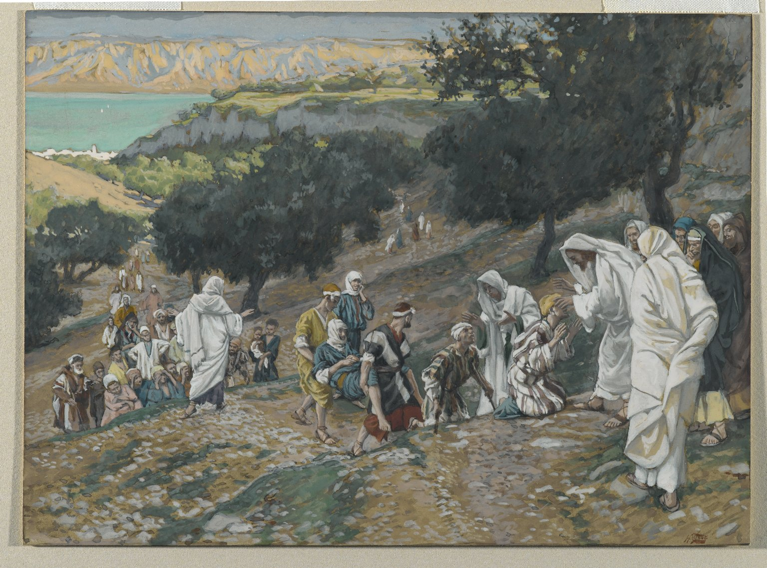 Brooklyn Museum - Jesus Heals the Blind and Lame on the Mountain-2