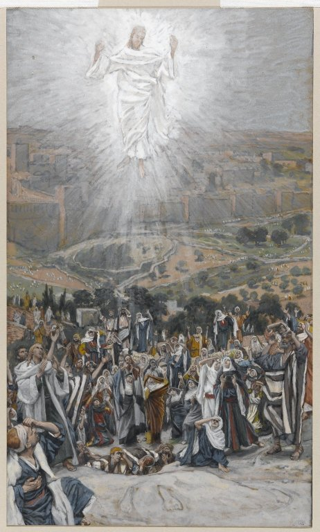 Brooklyn Museum - The Ascension LAscension - James Tissot