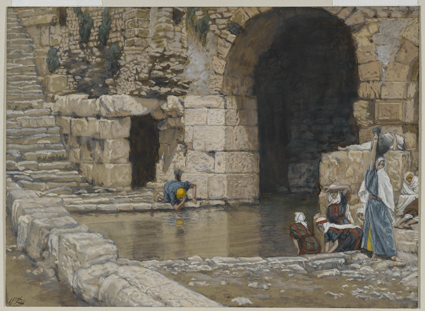 Brooklyn Museum - The Blind Man Washes in the Pool of Siloam 2-1400