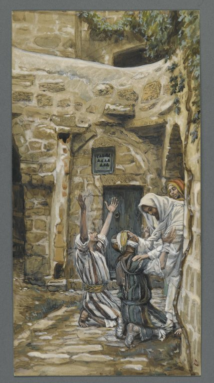 Brooklyn Museum - The Blind of Capernaum James Tissot