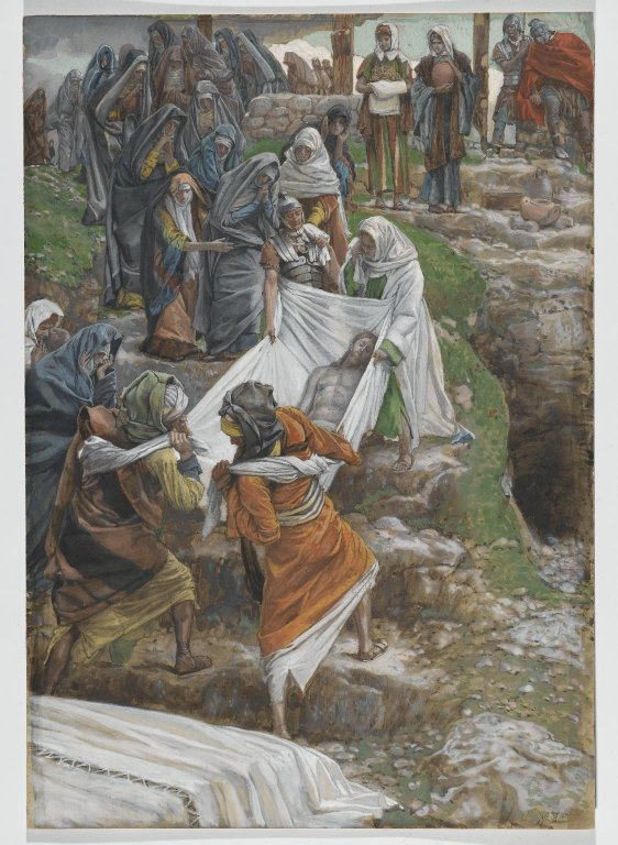 Brooklyn Museum - The Body of Jesus Carried to the Anointing Stone