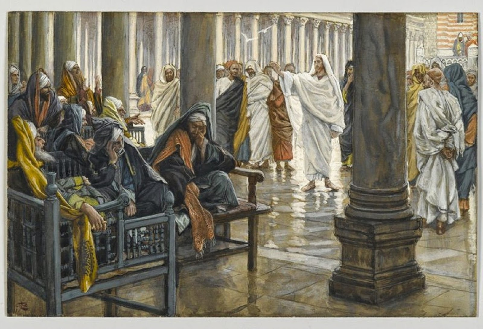Brooklyn Museum - Woe unto You Scribes and Pharisees-2