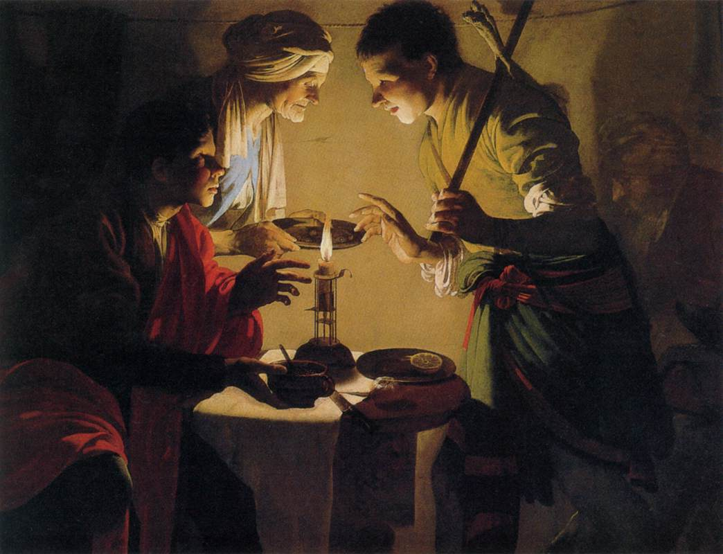 Brugghen Hendrick ter - Esau Selling His Birthright - c. 1627