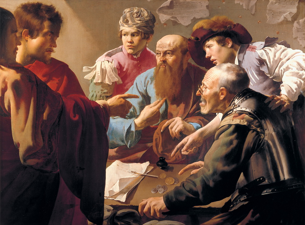 Brugghen Hendrick ter - The Calling of St. Matthew - 1621-1000