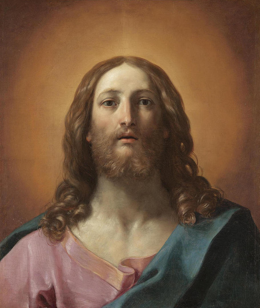 Bust Of Christ is a painting by Guido Reni