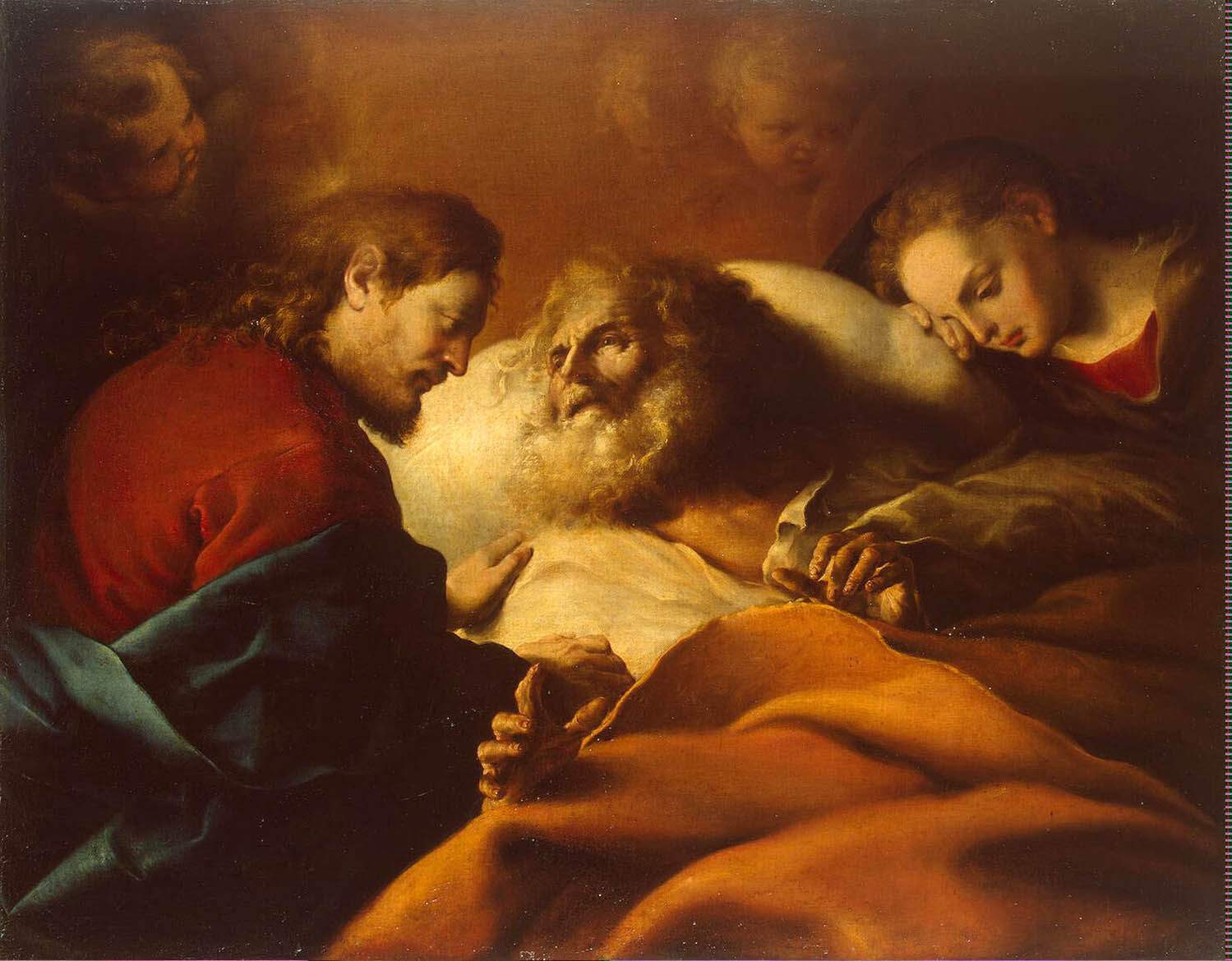 Cano Alonso - Death of St Joseph
