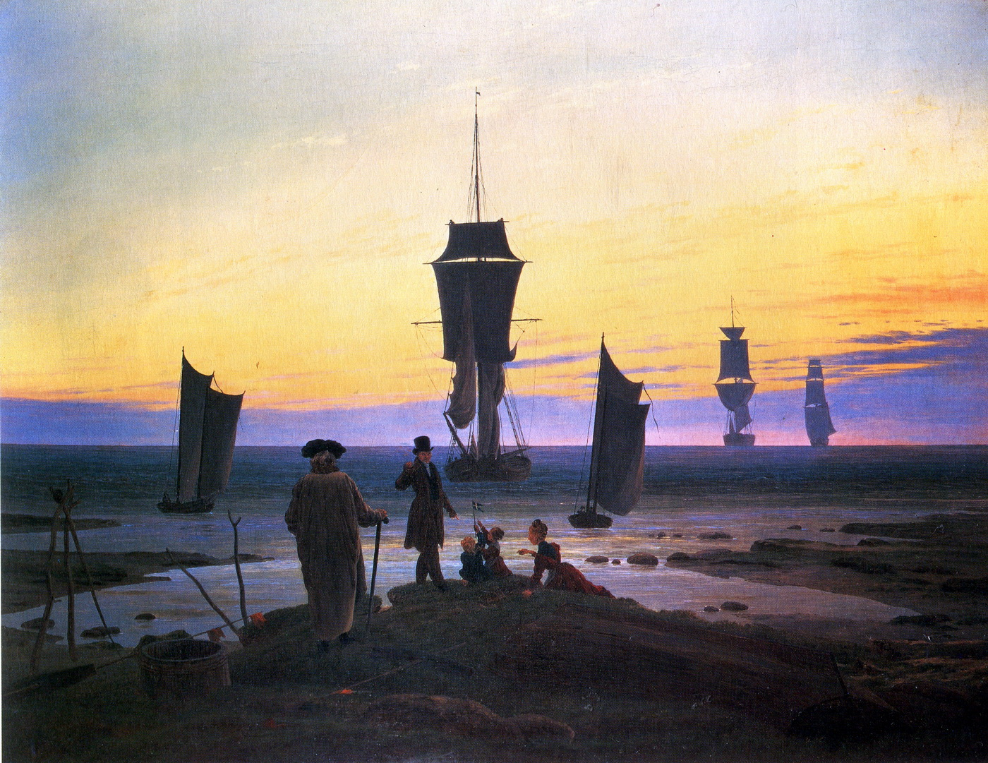 Caspar David Friedrich -The stages of Life-1400