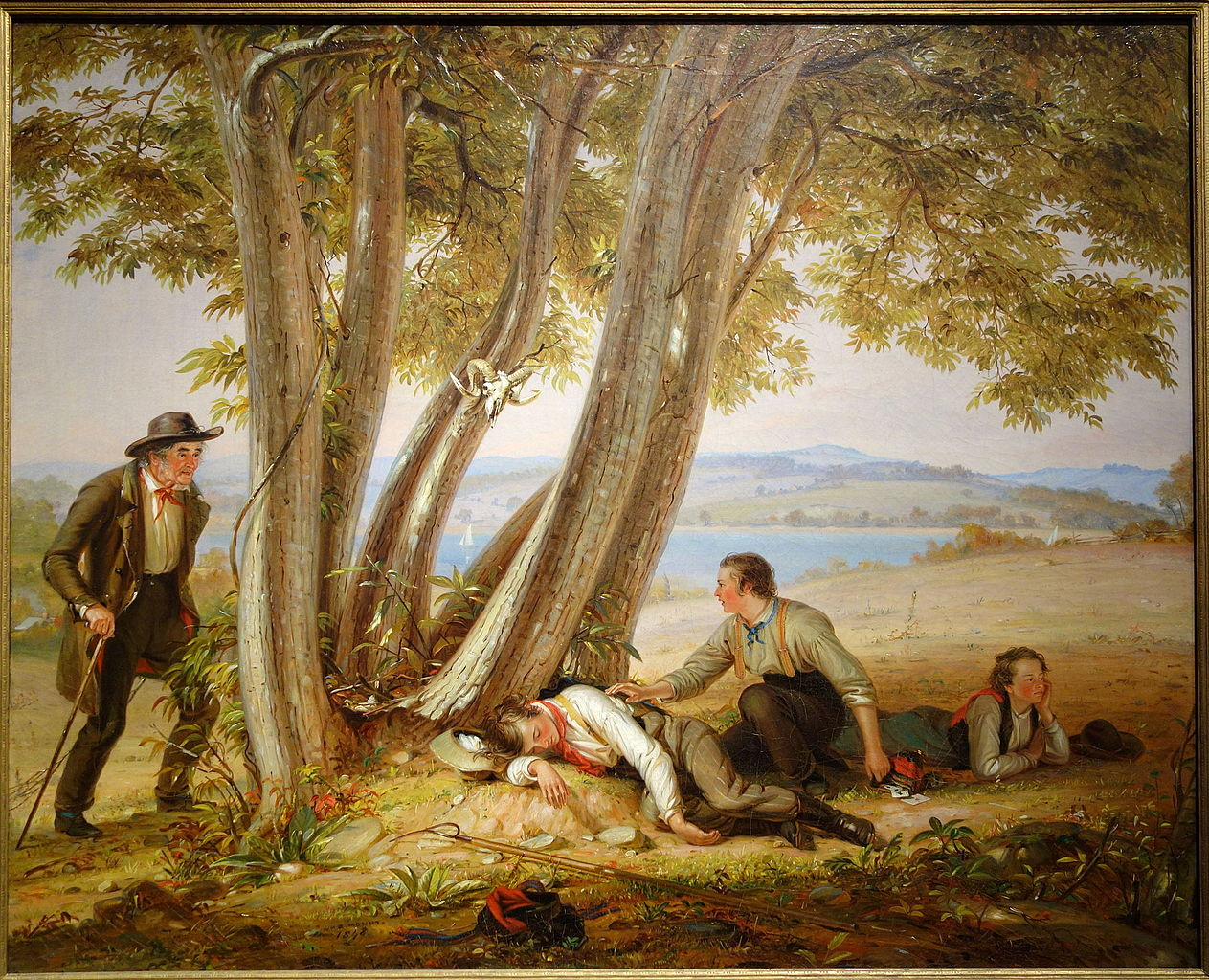 Caught Napping by William Sidney Mount 1848