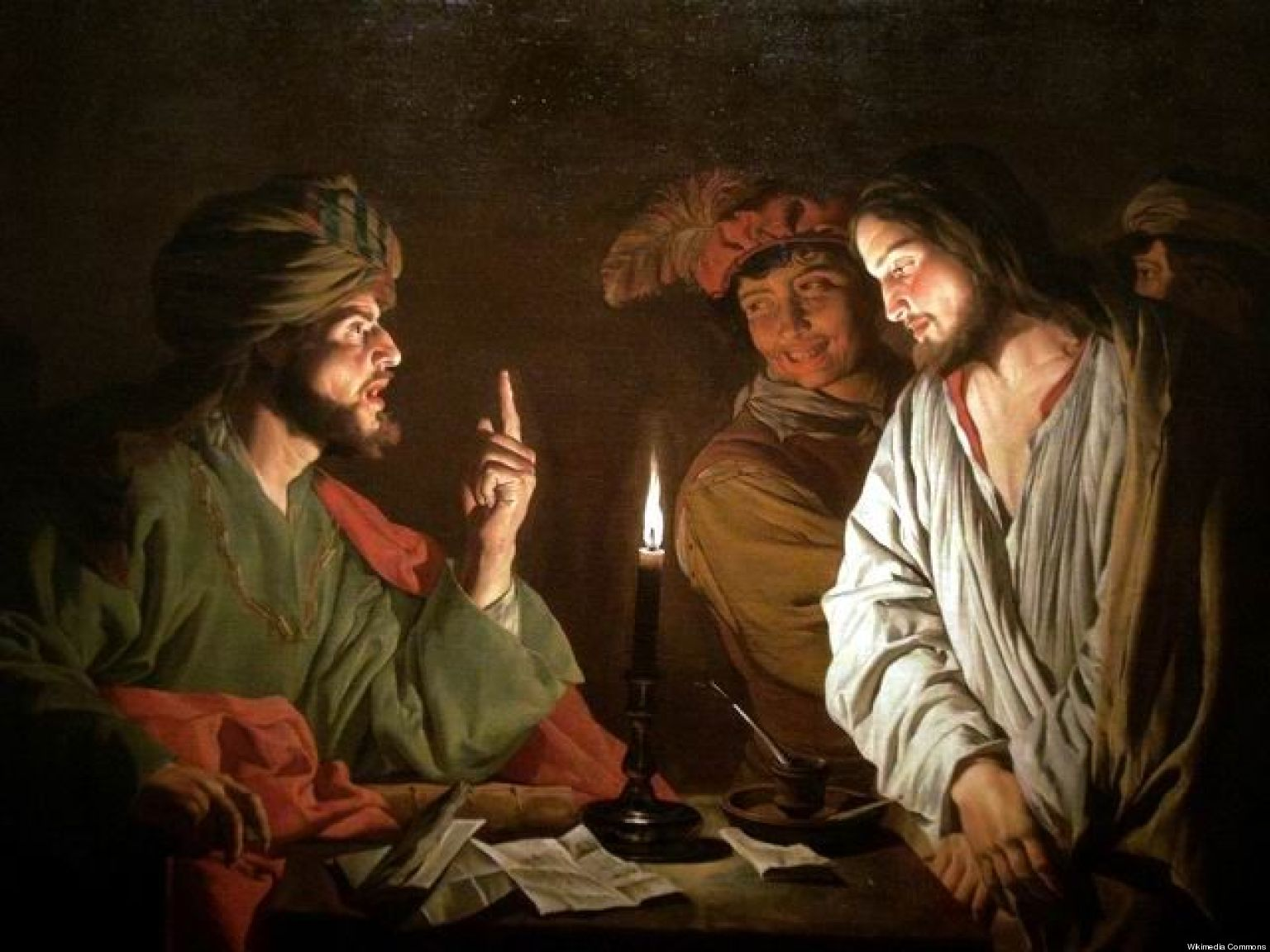 Christ. before Caiaphas-Mattias Stom