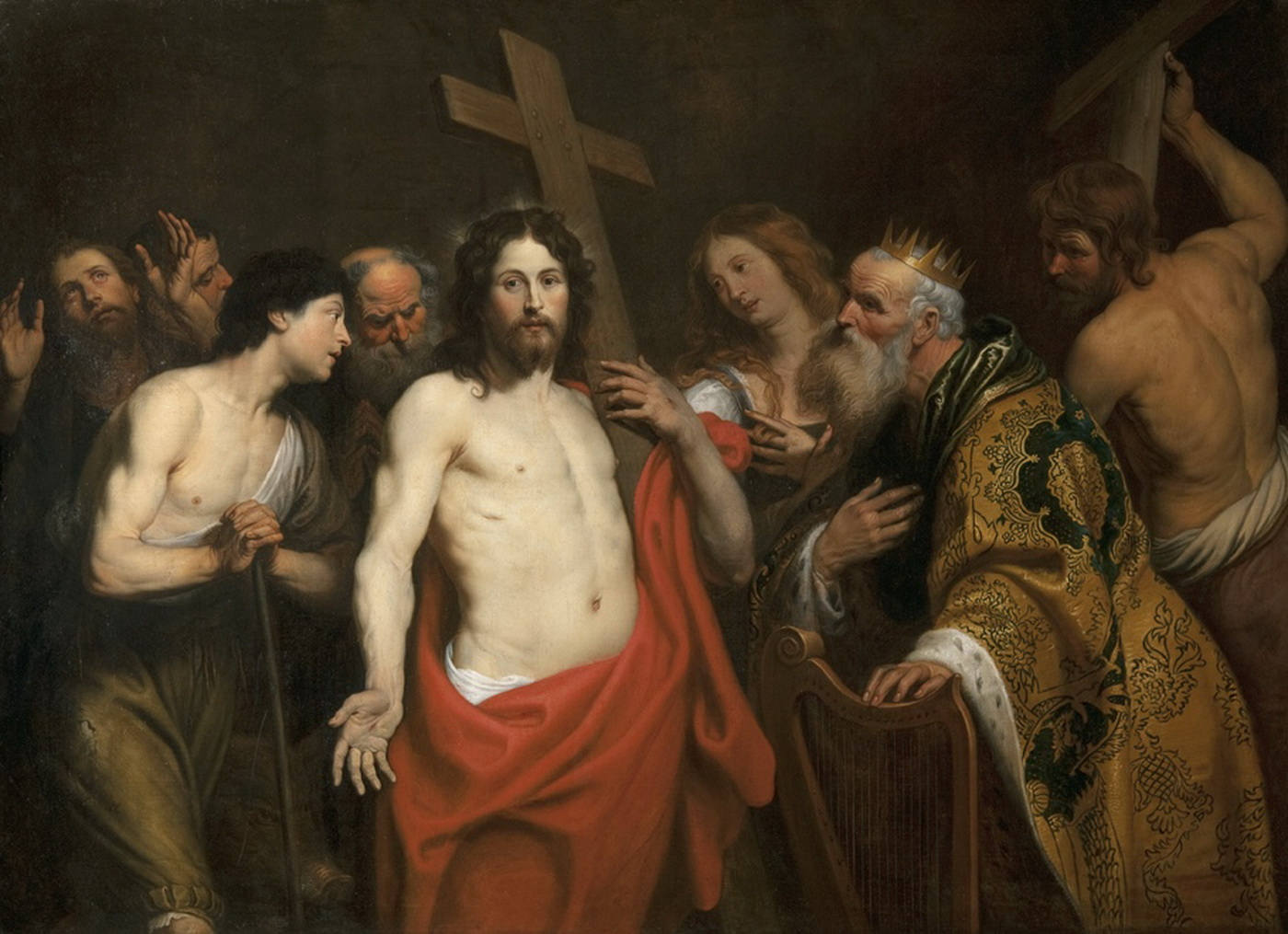 Christ and the Penitents by Gerard Seghers-1400