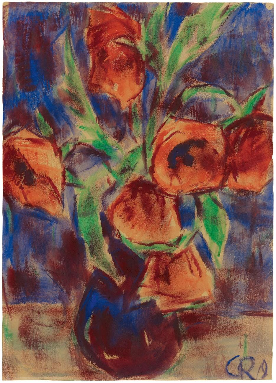 Christian Rohlfs 1849-1938 poppies