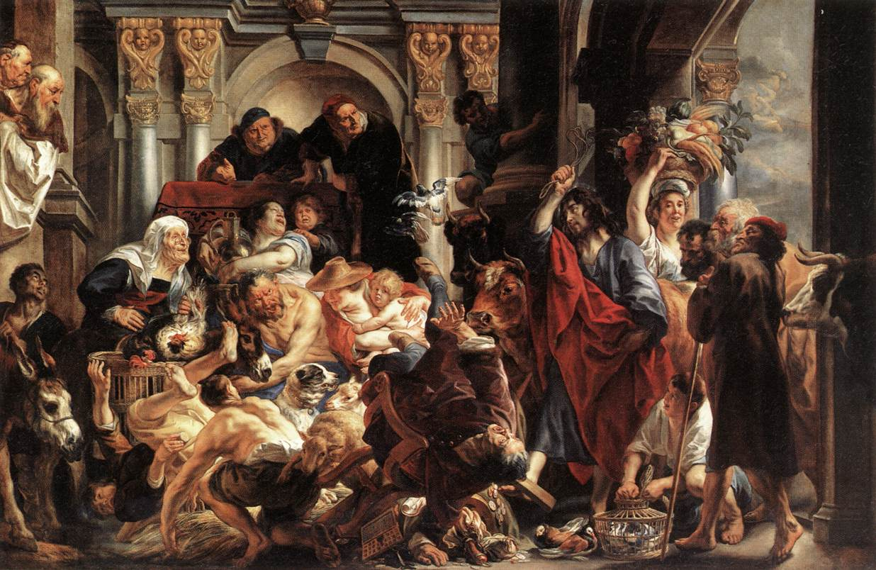 Cleaning of the Temple Jordaens
