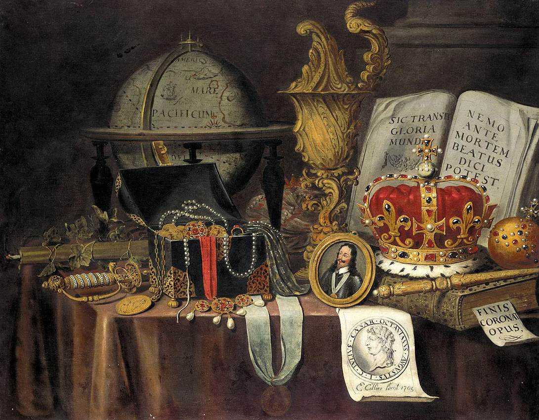 Collier Evert - Vanitas Still-Life - 1705