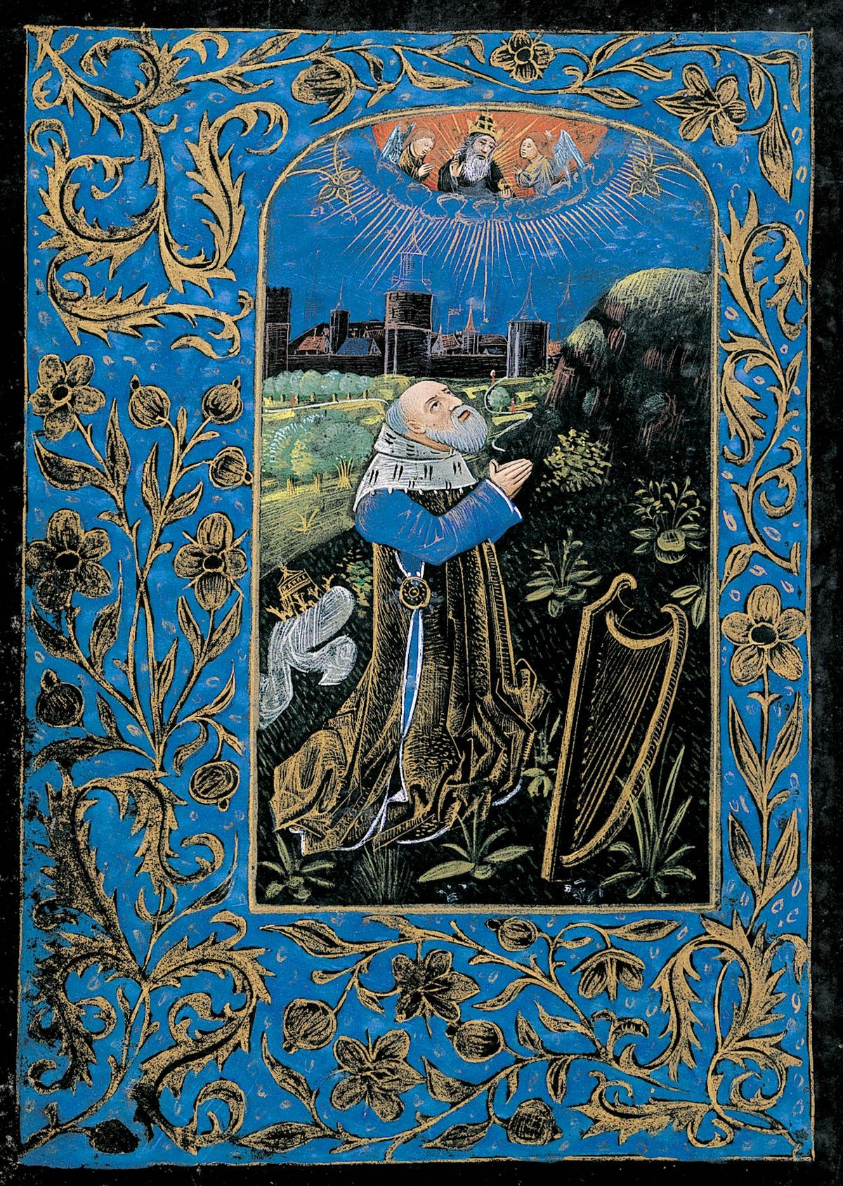 David in Prayer Penitential Psalms and Litany Book of Hours The Black Hours