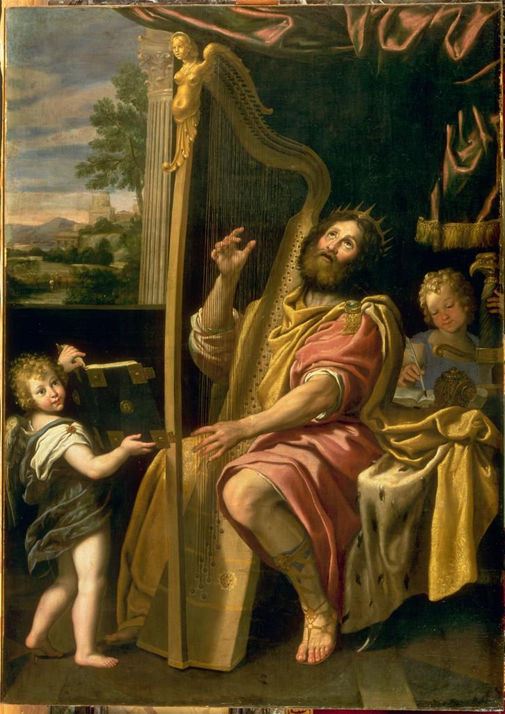 Domenico Zampieri Domenichino King David